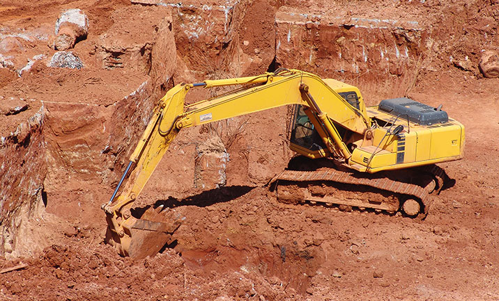 Mining and earthmoving equipment.